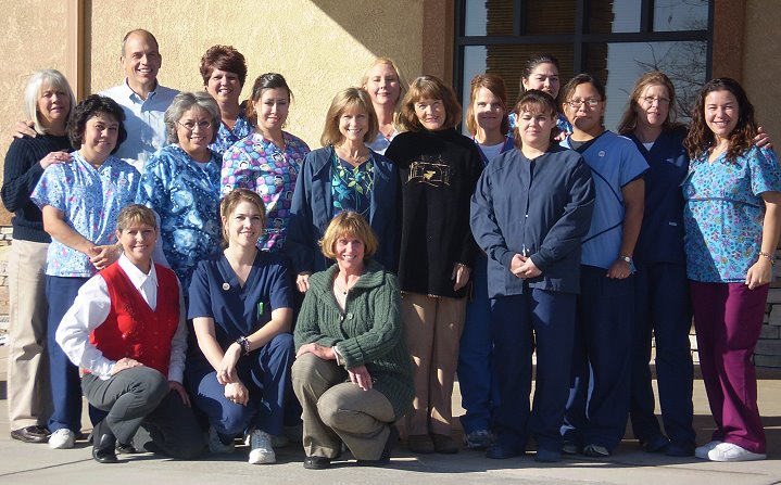 The staff at Blue Skies Center for Women in Colorado Springs, CO